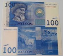 Kyrgyzstan - 100 Som 2016 UNC Lemberg-Zp - Kirgisistan