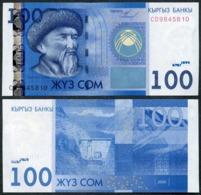 Kyrgyzstan - 100 Som 2009 UNC Lemberg-Zp - Kirgizïe
