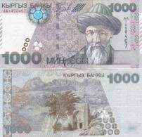 Kyrgyzstan - 1000 Som 2000 UNC Lemberg-Zp - Kirgisistan
