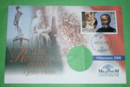 LIBERIA - Michelangelo - Brief Letter Lettre 信 Lettera Carta письмо Brev 手紙 จดหมาย Cover (Foto)(35420) FFF - Liberia