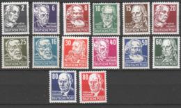 DDR , Köpfe II Ohne 84er Postfrisch , Altsigniert - Unused Stamps