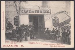 CPA   06 - MOUGINS -  Cafe De France Tenu Par Chaude D. - Mougins
