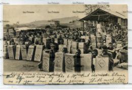 Malawi Nyasaland Postcard  Native Porters At Katungas BCA 1915 By ALC Mandala And Glasgow - Malawi