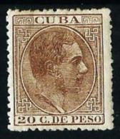 Cuba (España) Nº 73 Nuevo* Cat.175€ - Cuba (1874-1898)