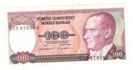 Turkey , 100 Lirasi , UNC. - Turkey
