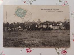 Les Environs De Conflans Briaucourt  Vue Générale Cachet Boîte Rurale OR Haute Saône Franche Comté - Altri Comuni