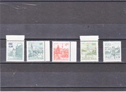 YOUGOSLAVIE 1982 TOURISME Yvert 1831-1835 NEUF** MNH - 1945-1992 Socialist Federal Republic Of Yugoslavia