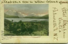 NEW ZEALAND - DART FROM PARADISE - HEAD OF LAKE WAKATIPU - STAMP 1900s (BG4134) - Nouvelle-Zélande
