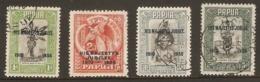 PAPUA 1935 SILVER JUBILEE SET SG 150/153 FINE USED Cat £16 - Papua-Neuguinea