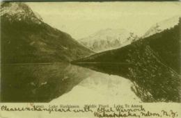 NEW ZEALAND - LAKE HANKINSON MIDDLE FORD - LAKE TE ANAU - STAMP 1900s (BG4136) - Nouvelle-Zélande