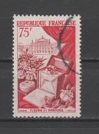 """FRANCE / 1954 / Y&T N°  974 : """"Productions De Luxe"""" (Parfumerie / Opéra) - Choisi - Cachet Rond - France"""