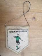 Grembergen Klein Zand Voetbal Twee Zijden Bedrukt Dendermonde - Obj. 'Herinnering Van'
