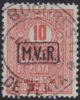Deutsches Reich - Rumania   .    Michel   .  Porto  8      .    O     .    Gebraucht  .   /   .  Cancelled - Germany