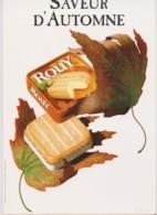ROUY - Saveur D'automne - ALIMENTATION, FROMAGE - CPM TBon Etat (voir Scan) - Publicité