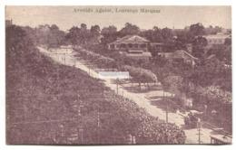 Lourenco Marques, Maputo - Avenida Aguiar - Old Mozambique Postcard - Mozambique