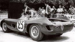 Talbot-Lago Maserati 2500  - Pilotes: Bruce Halford-Franco Bordoni  (Concurrents  Du Mans 1957) - PHOTO 15x10cms - Le Mans