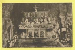 * Edegem - Edeghem (Antwerpen - Anvers) * (Nels) Grot OLV Van Lourdes, Grotte ND De Lourdees, Intérieur, Rare - Edegem