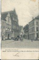 Diest,Coin De La Grand Place Et Rue De La Montagne Des Saints 1907 - Diest