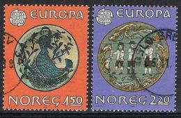 1981 - NORVEGIA / NORWAY  - EUROPA CEPT - IL FOLCLORE / FOLKLORE. USATO / USED - 1981