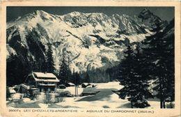 CPA Les Chozalets ARGENTIERE AIGUILLE Du CHARDONNET (337329) - Chamonix-Mont-Blanc