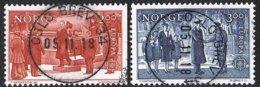 1982 - NORVEGIA / NORWAY  - EUROPA CEPT -  AVVENIMENTI STORICI / HISTORICAL EVENTS. USATO / USED - Europa-CEPT