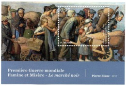 LUXEMBOURG 2018 - 1v - MNH** - WWI - Famine Misery Black Market Alimentation - Paintings - War Hungersnot - Elend - Food