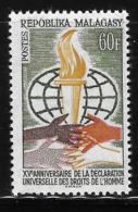 Malagasy 1963 Universal Declaration Of Human Rights MNH - Madagascar (1960-...)