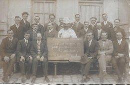 BERRY - SAINT NICOLAS PATRON DES CELIBATAIRES - CARTE PHOTO SAINT NICOLAS ET GARS A MARIER PLUS DE 30 ANS 1910/20 - Centre-Val De Loire