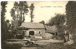 Saint-Thois - Cour De Ferme - Other Municipalities