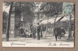 CPA 75 - PARIS - 3ème Arrondissement - Sur Le Boulevard Saint-martin - SUPERBE PLAN ANIMATION TB KIOSQUE à Journaux - Paris (03)