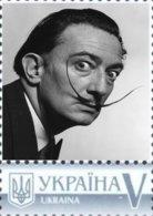 Ukraine 2017, Great Men Of 20th Century, Salvador Dalí, 1v - Ucraina