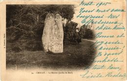 CPA CHOLET-Le Menhir Jardin Du Mail (189838) - Cholet