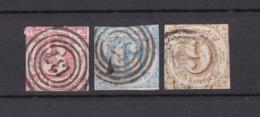 Thurn Und Taxis - 1862/64 - Michel Nr. 32/34 - Gest. - 62 Euro - Thurn En Taxis
