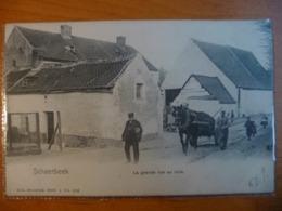 CPA - Schaerbeek - La Grande Rue Au Bois- Série 1 N°302 -Cheval De Trait -Attelage - Gendarme -1900 - Dos: Non Divisé - Schaerbeek - Schaarbeek