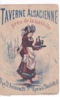 TAVERNE ALSACIENNE(PARIS) - Publicités