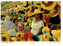 CPSM JAMAIQUE STRAW MARKET JAMAICA - Sonstige