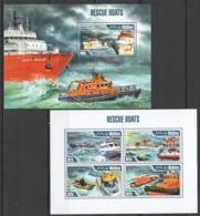ML616 2013 MALDIVES TRANSPORT SHIPS & BOATS RESCUE BOATS KB+BL MNH - Schiffe