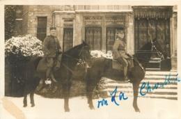 GOEULZIN 1917 PHTO ALLEMANDE FORMAT 12  X 8 CM - Francia