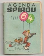 AGENDA SPIROU 64 / MINI ALBUM STYLE  MINI BIBLIOTHEQUE SPIROU  B949 - Spirou Magazine
