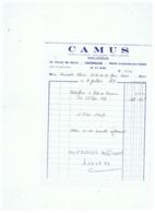 CAMUS HORTICULTEUR FLEURISTE PEPINIERISTE à  AVESNES (NORD) 1979 - Frankreich