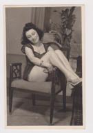 #49791 Vintage Orig Photo Pretty Lady Woman With Sexy Underwear Private Portrait - Celebridades De Antaño