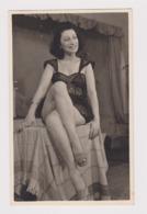 #49793 Vintage Orig Photo Pretty Lady Woman With Sexy Underwear Private Portrait - Celebridades De Antaño