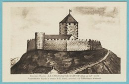 CPA 63 Environs D' Issoire Chateau De Saint Babel - Issoire