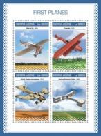 SIERRA LEONE - 2018 - First Planes - Perf 4v Sheet - M N H - Sierra Leone (1961-...)