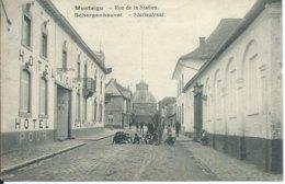 Scherpenheuvel/Montaigu,Statiestraat-Rue De La Station 1920 - Scherpenheuvel-Zichem