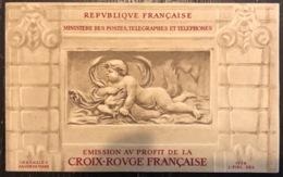France - Carnet Croix Rouge - Neuf Sans Charnière - 1952 - Croix Rouge