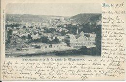Huy/Hoei Panorama Pris De La Route De Waremme 1898,mooi Stempel ANDENNE - Huy