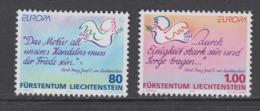 Europa Cept 1995 Liechtenstein 2v ** Mnh (44911F) ROCK BOTTOM PRICE - Europa-CEPT