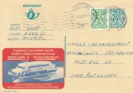 België Publibel; 2788N, Draagvleugelboot - Stamped Stationery
