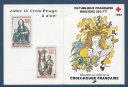 France - Carnet Croix Rouge - Neuf Sans Charnière - 1983 - Carnets